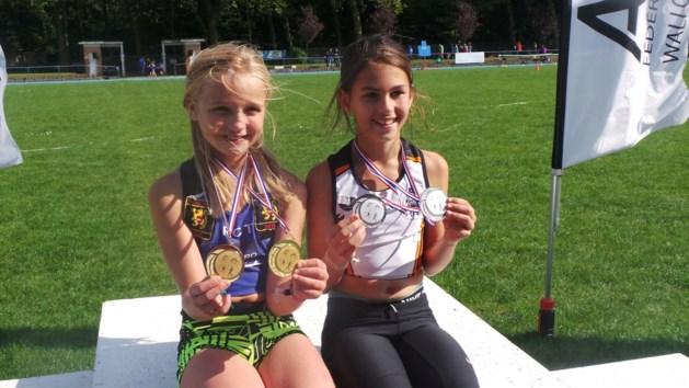 Laure Mondelaers is Belgisch atletiekkampioen bij de benjamins
