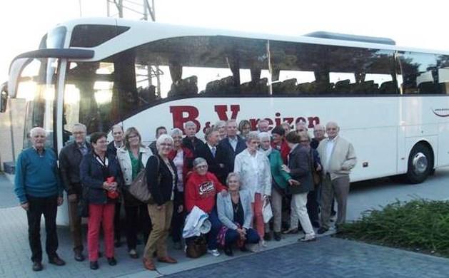 Senioren van De Zandloper trekken naar Mechelen