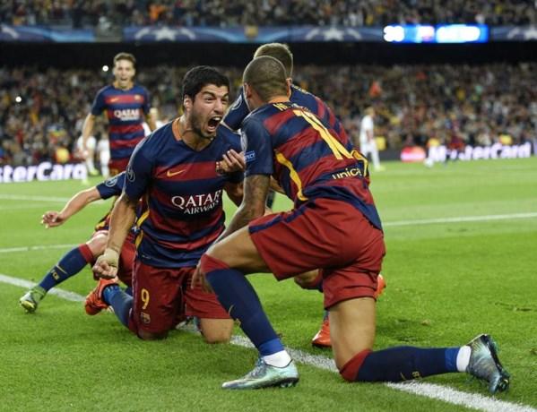 CHAMPIONS LEAGUE. Barça ontsnapt, pijnlijke nederlagen voor Roma en Arsenal
