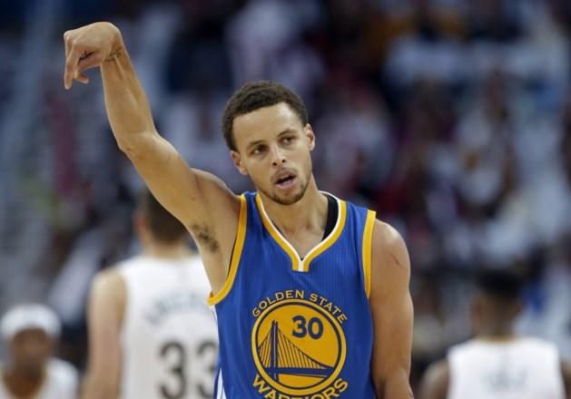 MVP Stephen Curry: 'Warriors krijgen nieuwe titel niet cadeau'