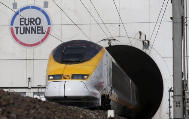 Vluchteling gegrepen door trein vlakbij Kanaaltunnel