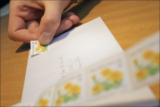 Postzegel volgend jaar 2 cent duurder