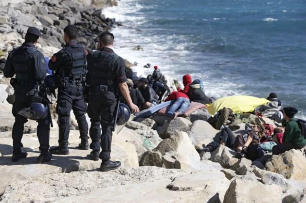 Italiaanse politie ontruimt vluchtelingenkamp aan de Franse grens