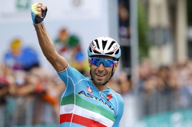 Vincenzo Nibali zegeviert in eigen land