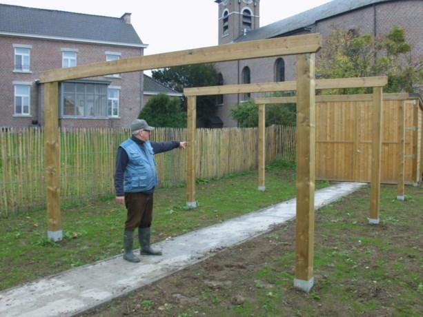 Nieuwe schietstand Sint-Sebastiaansgilde 5 meter te kort
