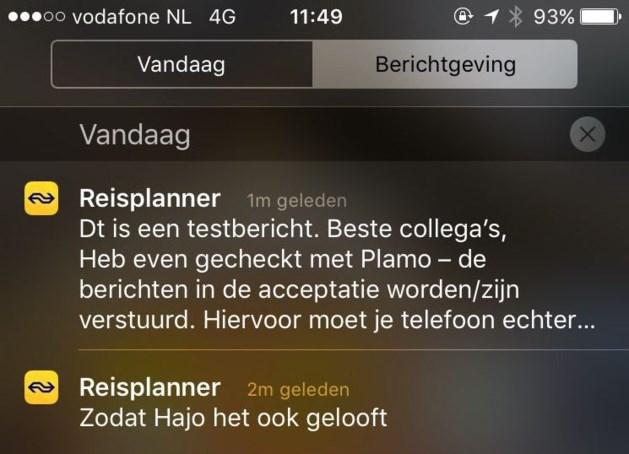 Lachen met #Hajo en Nederlandse Spoorwegen na blunderbericht