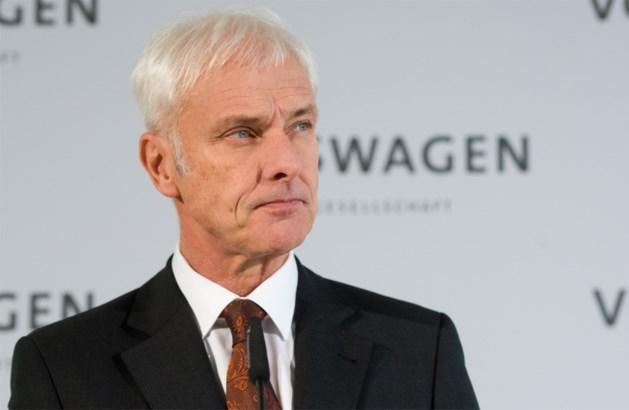 """Milieuschandaal VW: """"Volkswagen nog minstens 1 jaar in ban van schandaal"""""""