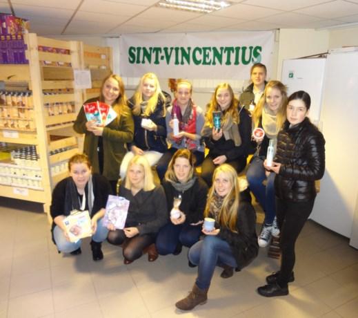 Studenten Bovenbouw Sint Michiel steunen Sint Vincentius