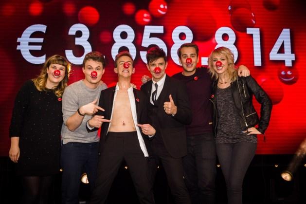 3,8 miljoen euro dankzij Rode Neuzen