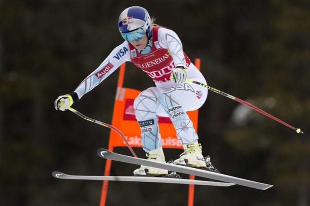 Lindsey Vonn wint ook tweede afdaling in Lake Louise