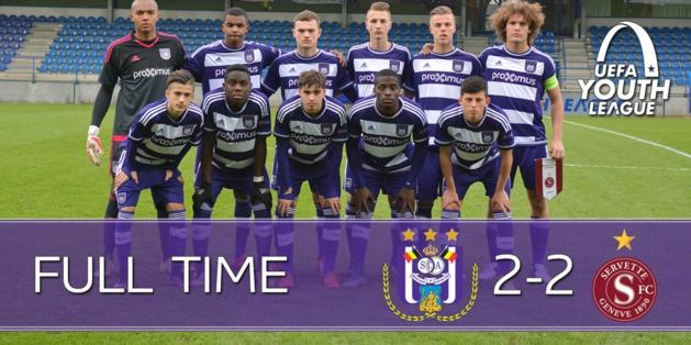 Anderlechtse U19 plaatst zich voor play-offs UEFA Youth League