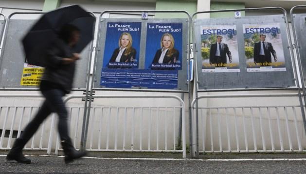 Regionale verkiezingen Frankrijk in de ban van terreur