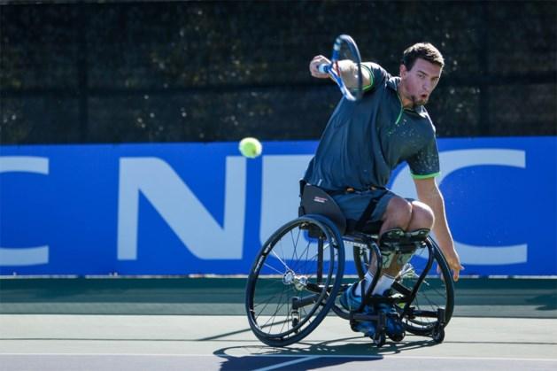 Joachim Gérard pakt de zege op Wheelchair Tennis Masters