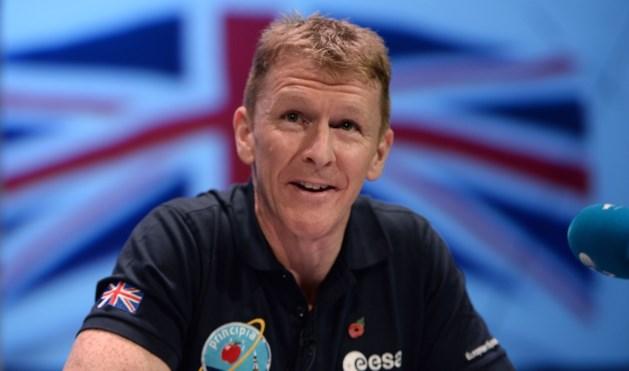 Britse astronaut legt marathon af in de ruimte