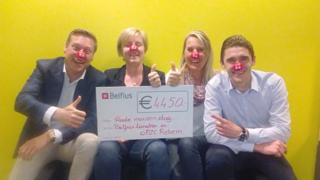 Belfius Lanaken en OPZC Rekem samen in actie voor Rode Neuzen Dag