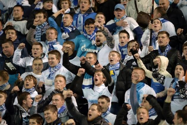 """Zenit roept fans op """"rekening te houden met situatie in België"""""""
