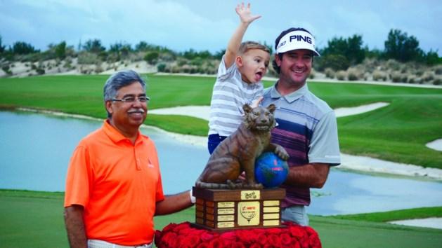 Zege voor Amerikaan Bubba Watson op Hero World Challenge golf
