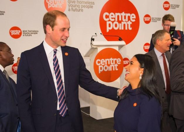Prins William komt belofte aan dakloos meisje na