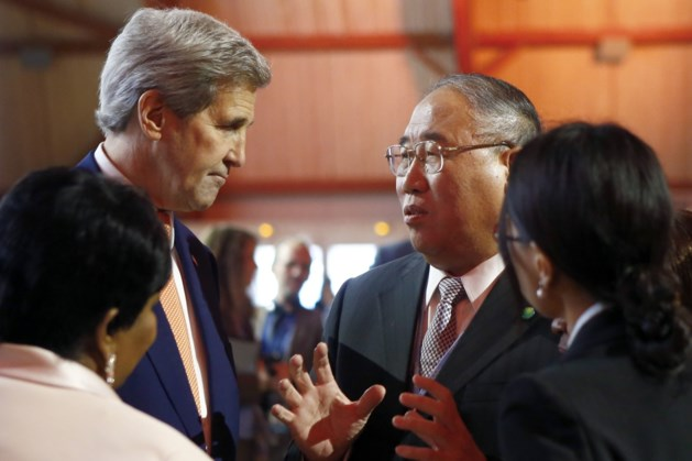 "John Kerry: ""Klimaatakkoord op de rails"""