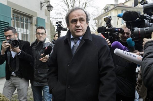 """""""Platini zal voor meerdere jaren worden geschorst"""""""
