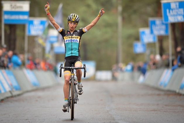 Jolien Verschueren zegeviert op Zilvermeercross bij de vrouwen