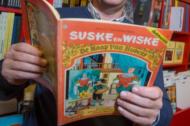 Suske en Wiske vieren 70ste verjaardag in Antwerpen