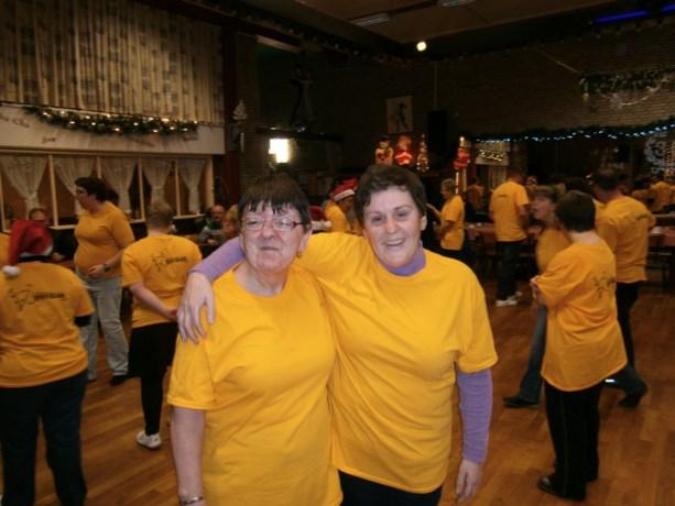 Kerstfeestje bij dansclub Gerdak