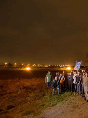 """Protest tegen Hoeselts SALK-industrieterrein: """"De landbouwers zijn opnieuw de dupe"""""""