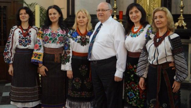 Vocaal ensemble Loubistok uit Oekraïne te gast bij paters Minderbroeders