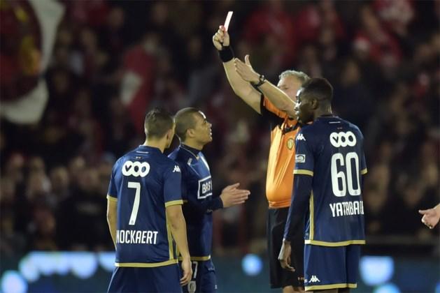 Standard-speler Dossevi ontsnapt aan schorsing na rode kaart