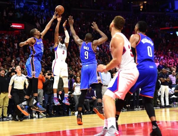 NBA. Een beslissende Durant en de tand van Schröder