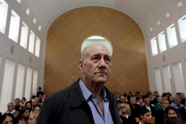 Anderhalf jaar cel voor Israëlische oud-premier Ehud Olmert