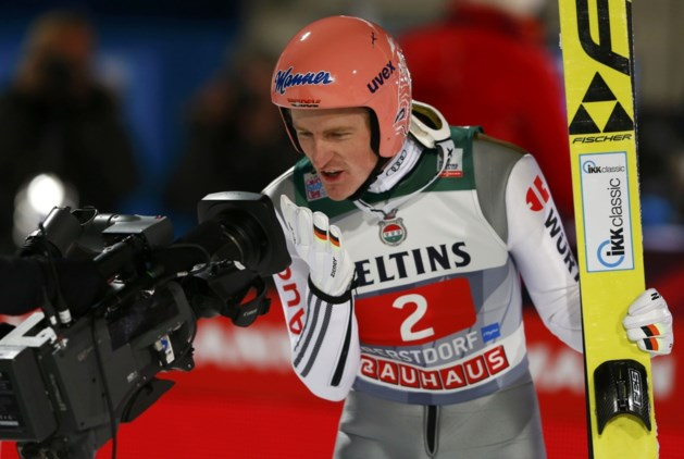Severin Freund is beste in Oberstdorf