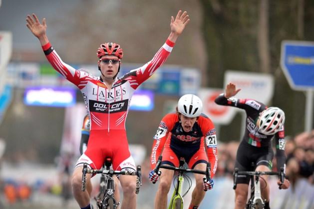 Wolsink sprint naar de zege bij junioren in Loenhout