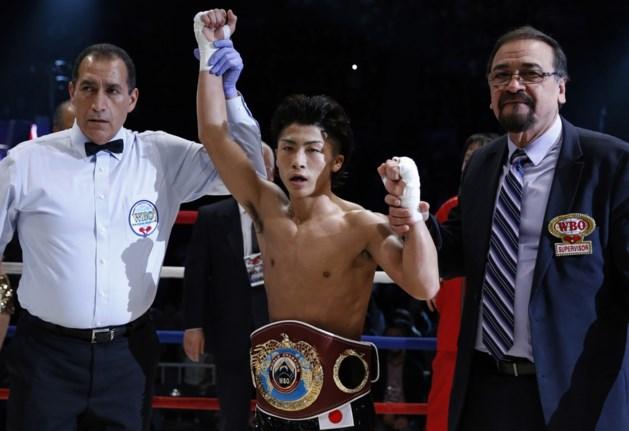 Japanner Inoue verdedigt met succes WBO-titel bij supervlieggewichten