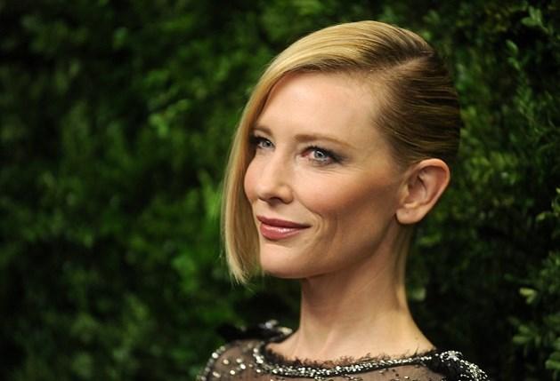 Cate Blanchett zegt witte doek (voor even) vaarwel