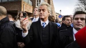 Vrouwen even opgepakt na 'sprayactie' Wilders