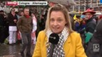 RTBF dient klacht in nadat verslaggeefster in Keulen werd lastiggevallen