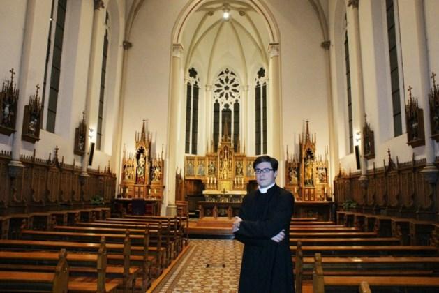 Priester start met dagelijkse avondmis in Herk-de-Stad