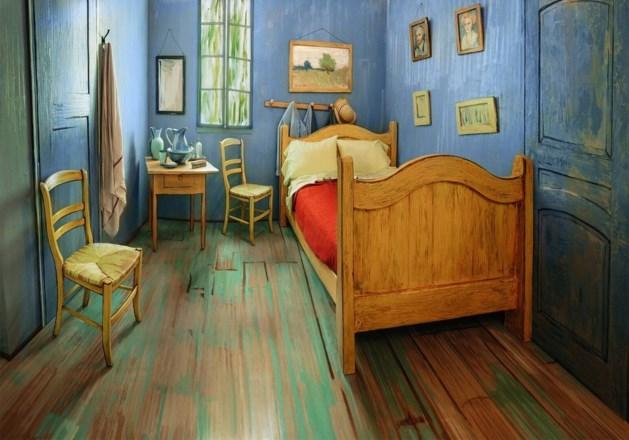 Slaapkamer van Van Gogh te huur via Airbnb