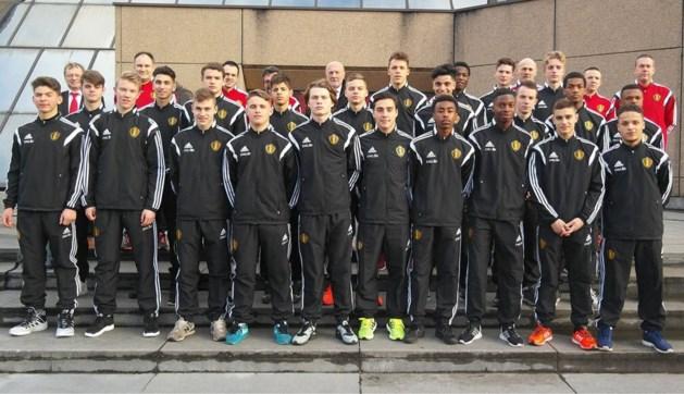 Belgische U17 sluit stage in Spanje af met nederlaag