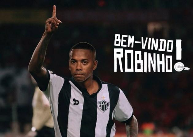 Robinho heeft nieuwe ploeg (in Brazilië)