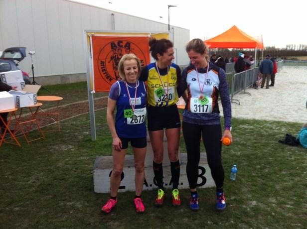Zilver voor veldloopster Sally Dreesen