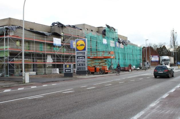 Nieuwe Lidl en 20 appartementen aan Quatre Bras