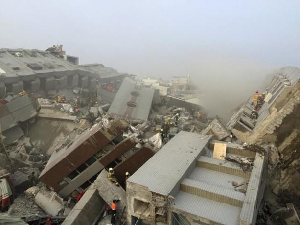 Aardbeving Taiwan - 116 doden, zoekoperatie beëindigd