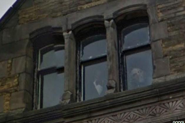 FOTO. Legde Google Street View een spook vast?