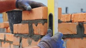 Bijna 15 procent minder bouwvergunningen uitgereikt tot eind november