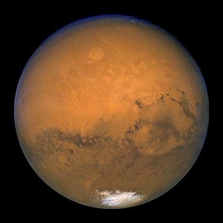"""Mars """"kantelde"""" veel later dan tot nu toe aangenomen"""