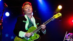 Brian Setzer en Joe Bonamassa op Blues Peer