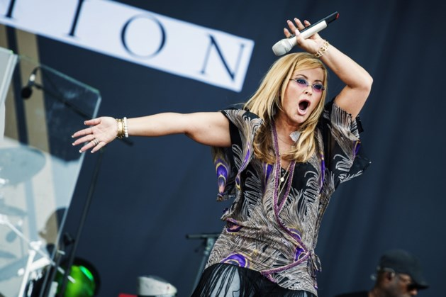 Genk on stage strikt Anastacia